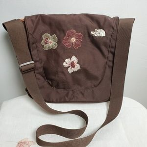 The North Face Crossbody Bag with Flowers